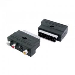 Adaptador Scart Euroconector a 3RCA