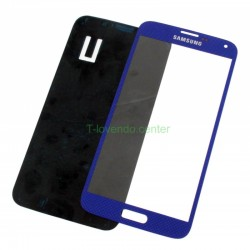 Cristal Pantalla Galaxy S5 i9600 azul