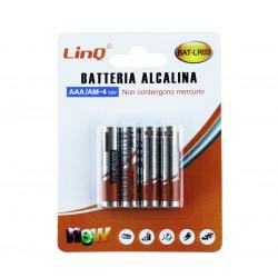 Blister de 4 Pilas Alcalinas AAA LR3