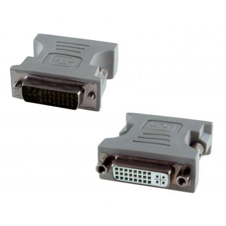 Adaptador de DVI-I 24+5 Macho - Hembra