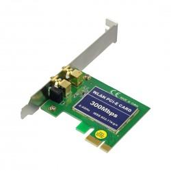 Tarjeta de Red Inalambrica 300Mbps PCI Express