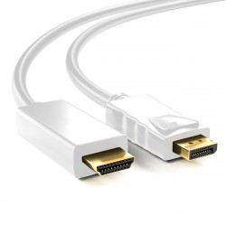 Cable de DisplayPort Macho a HDMI Macho - 1.8m