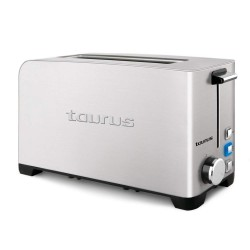 TOST. TAURUS MY TOAST LEGEND 1R LARGA INOX 1050W