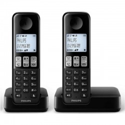 Telefono Dect Philips D2302B/23 DUO NEGRO
