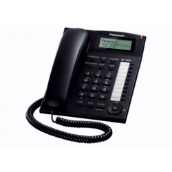 Telefono Panasonic KX-TS880EXB SobremesaNegro