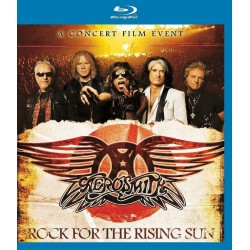 Blu-Ray Aerosmith - Rock for The Rising Sun