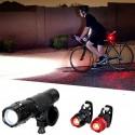 Luz LED Linterna 6000LM para Bici o Acampada