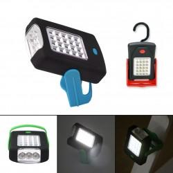 Linterna LED con Gancho Soporte de Pie e Imán