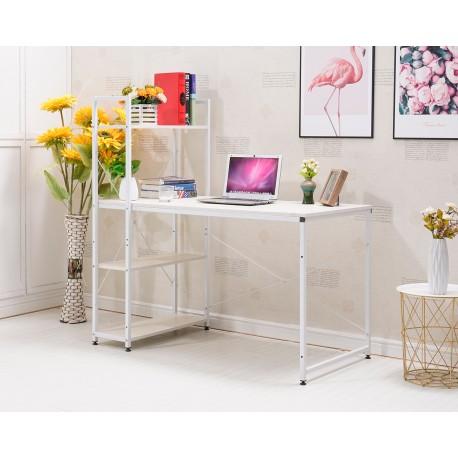 Mesa para PC Ordenador con 4 Estantes