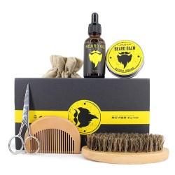 Kit Cuidado de Barba y Bigote