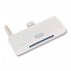Adaptador iPhone 4 a 5/6 Plus con audio