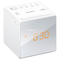 Radio Despertador Sony ICF-C1W Blanco