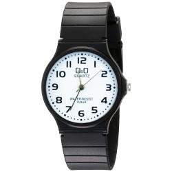 Reloj Analógico de Cuarzo Correa de Resina - Negro