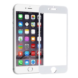 Cristal Pantalla Iphone 5 5S 5C Blanco