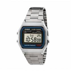 Reloj Casio A158WA - Plateado