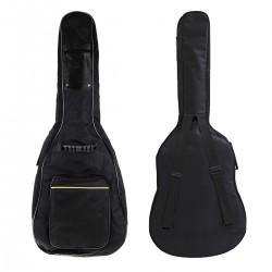 Funda de Guitarra Universal Acolchada - Negra - Exposicion