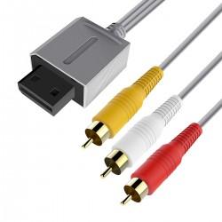 Cable AV RCA para Nintendo Wii