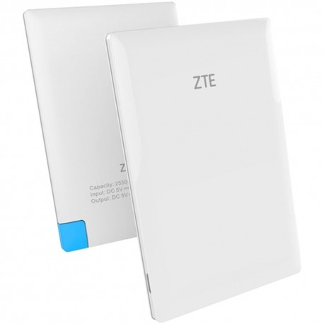Power Bank ZTE Batería Externa Micro USB 2550mAh