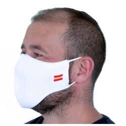 Mascarilla Proteccion Facial Lavable Reutilizable - Blanca España