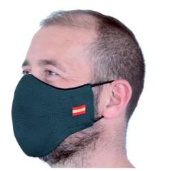 Mascarilla Proteccion Facial Lavable Reutilizable - Verde Militar España