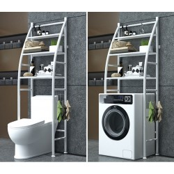 Estanteria sobre Inodoro WC Cuarto Baño y Lavadora