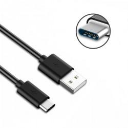 Cable USB-C 3.1 Tipo C a USB Macho Negro 1m