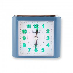 Reloj Despertador Analógico - Azul