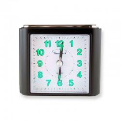 Reloj Despertador Analógico - Negro