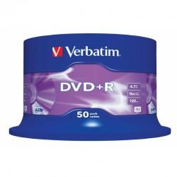 Tarrina de 50 DVD+R Verbatim 4,7GB X 16