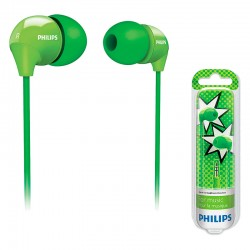 Auriculares de Tapón Philips SHE3570GN/10 - Verdes