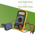 Multimetros y Voltimetros