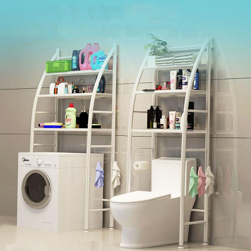 Estanteria sobre Inodoro WC Cuarto Baño Lavadora Ahorra ...